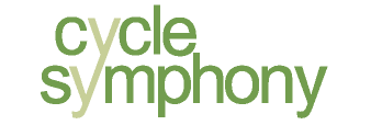 Cycle Symphony Bicycle Shop Logo